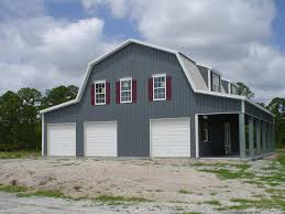 Garage Style Homes Gambrel Steel Buildings For Sale Ameribuilt Steel Structures