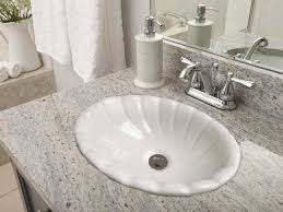 Small Basins For Bathrooms - self rimming drop in bathroom sinks by barclay