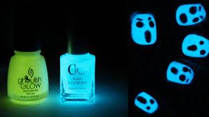 glow in the dark l glow in the dark halloween nail art totallycoolnails youtube glow
