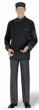 tenue de cuisine homme pantalon cuisinier boulanger homme rayures anthracite