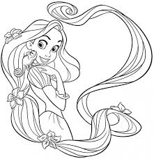 disney princess rapunzel coloring pages coloring pages kids