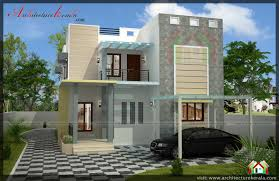 Home Design For 4 Cent by Stylish 4 Bedroom Small Plot Home Design With Free Plan Free