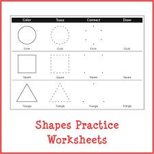 shapes practice worksheet gift of curiosity