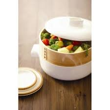 cuisiner vapeur cuit vapeur steamer en céramique jia inc vidélice