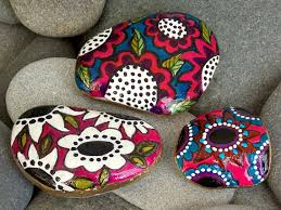 Painting Rocks For Garden Pet Rocks Rock Free How To Paint Rocks Middle