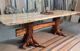 live edge outdoor table live edge slab furniture insteading