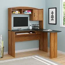 Indie Desk Amazon Com Computer Desk Corner L Shaped Ergonomic Study Table