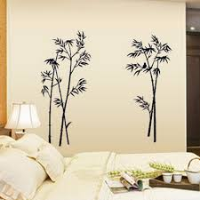 wall sticker bamboo promotion shop for promotional ink painting bamboo wall decor diy removable art vinyl black sticker decal mural home room elegant for bedroom