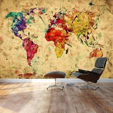 wall26 large wall mural grunge vintage world map self wall26 large wall mural grunge vintage world map self adhesive vinyl wallpaper removable modern decorating wall art 66