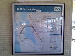 Bart System Map by A Fascinating Look At How The Bart Map Has Changed Over The Years