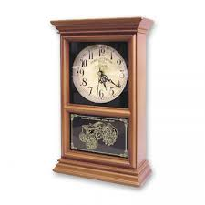 john deere wood regulator mantel clock rungreen com