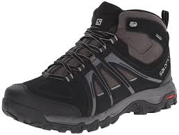 s outdoor boots in size 12 salomon evasion mid gtx hiking shoes 12 size 11 black autobahn
