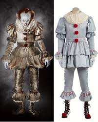 Edward Elric Halloween Costume Stephen Kings Pennywise Cosplay Costume Joker Style