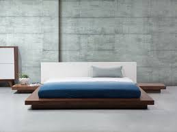 wooden bed japan style 180x200 cm super king size with side