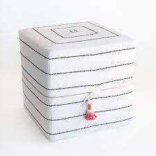 ottoman cube toulouse onyx small u2013 tonic living