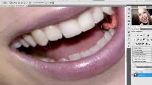 Vampire Teeth Avril Lavigne Vampire Teeth Photoshop Tutorial Youtube