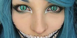 cool cat eye makeup halloween images
