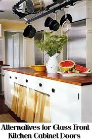 alternative to kitchen cabinets kitchen cabinet door alternatives fanti blog