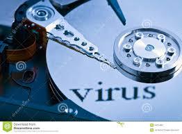 Harddisk Vira Disk Virus Stock Image Image Of Security Computer 34214667