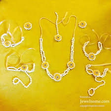 flower jewellery anoo flower jewellery manufacturer of gota jewellery