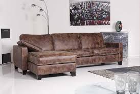 wohnzimmer ecksofa ecksofa echt leder mit rustikal stil für wohnzimmer design möbel ideen