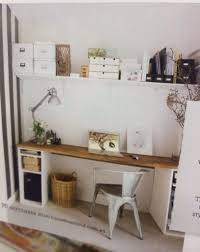 Study Space Design Wooden Work Desk And Organised Study Space Tiny Nooks