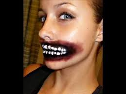 halloween series 2011 lips mad mouth makeup tutorial youtube