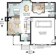4 room house house plan w3461 v1 detail from drummondhouseplans com