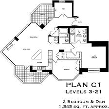 2 bedroom condo floor plans park place floor plan c1
