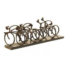 Libra Home Decor Libra Racing Cyclists Sculpture Home U0026 Travel From The Luxe