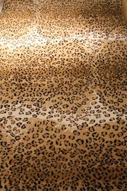 cheap thrills u2013 leopard print rug family chic by camilla fabbri