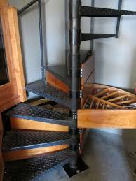 spiral staircase steps used for storage the cut decorating