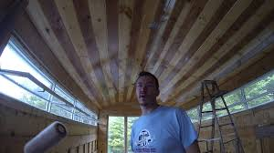 Outdoor Wood Ceiling Planks by 5 The Easy Way To Finish A T U0026g Pine Ceiling With Polyurethane