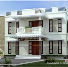home design beautiful home design flat roof style kerala home
