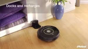 Irobot Laminate Floors Irobot Roomba 600 Series Robot Vacuum Youtube
