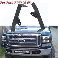 f150 bumper light bar 20 inch led light bar hidden bumper mount brackets fit ford f 150