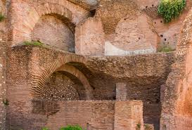 file brick walls and vaults forum romanum rome italy jpg