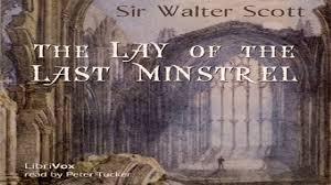 lay of the last minstrel sir walter scott narratives single