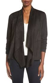 Black Drape Front Cardigan Drape Front Cardigans On Trend For Spring 2017