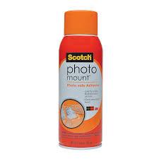 Dry Mount Photo Album Amazon Com Scotch R Photo Mount Tm Photo Safe Spray Adhesive