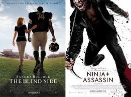 Blind Ninja The Blind Side And Ninja Assassin A Side By Side Comparison