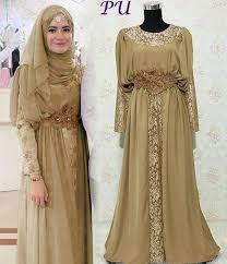 Baju Muslim Brokat model baju gamis brokat muslim model baju muslim batik terbaru 2018