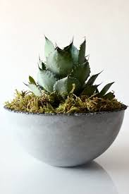 modern minimalist and american made nativecast planters