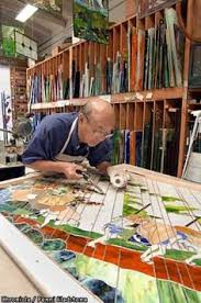 stained glass work table design stained glass workbench stain glass pinterest glass mosaics