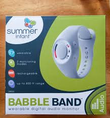 band baby babble band wearable baby monitor review