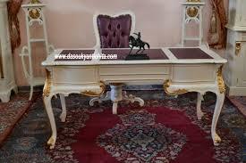 sedie chippendale scrivania stile chippendale completa di poltrona girevole e coppia