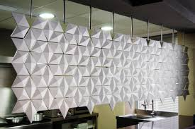 Modular Room Divider Hanging Room Divider Facet Graphite Space Dividers From