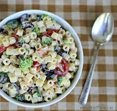 creamy pasta salad recipe creamy pasta salad recipe simple delicious