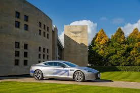 custom aston martin rapide all electric aston martin rapide revealed