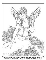 fairy coloring pages colouring detailed advanced printable
